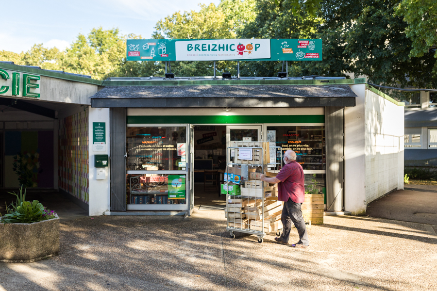 Breizhicoop - visions de l'épicerie coopérative de Rennes :